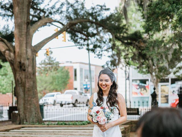 Aldrich and Rossan's Wedding in New Bern, North Carolina 7