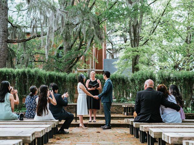 Aldrich and Rossan's Wedding in New Bern, North Carolina 1