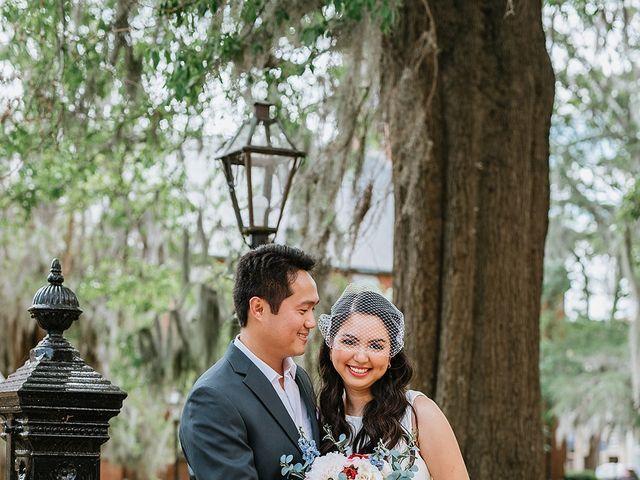 Aldrich and Rossan's Wedding in New Bern, North Carolina 9