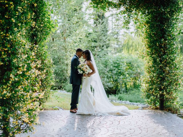 The wedding of Candice and Victor