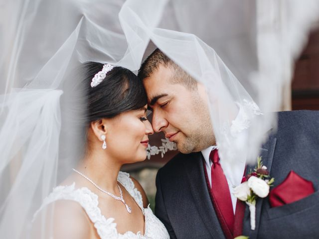 The wedding of Brenda and Eric