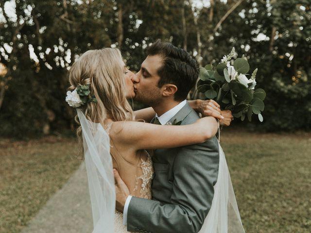 The wedding of Ashley and Matthew