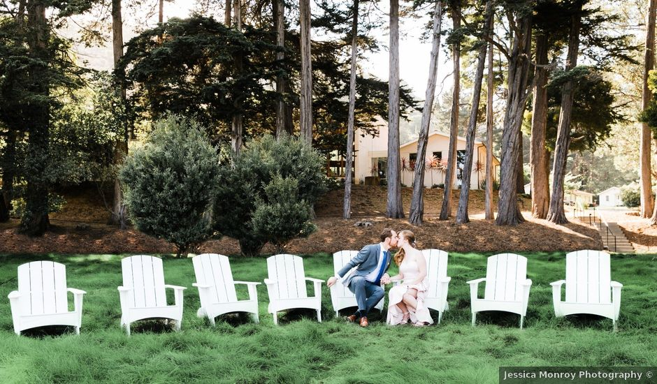 Drew and Sara's Wedding in Mill Valley, California