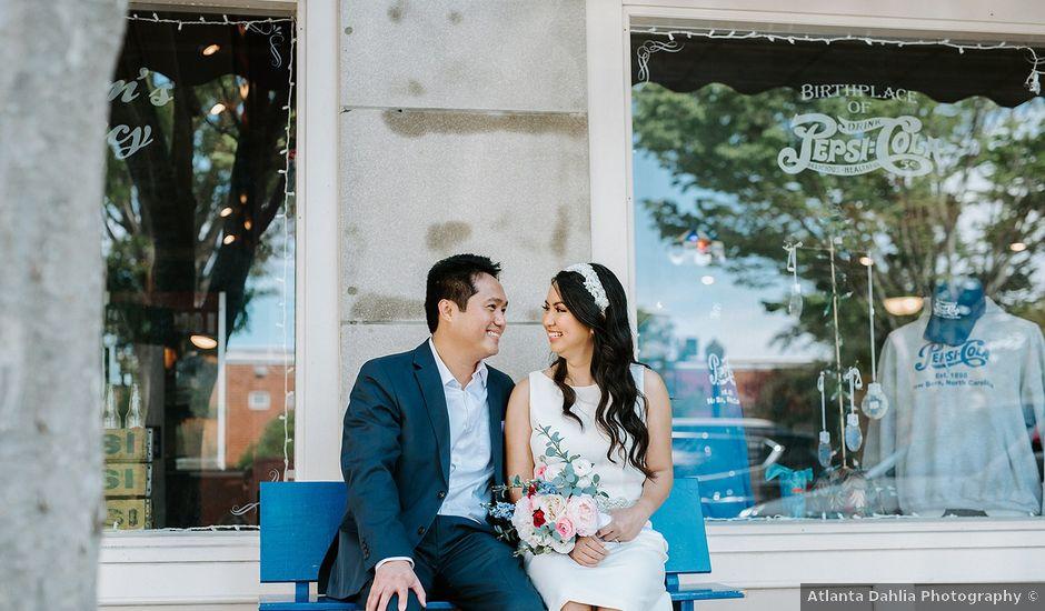 Aldrich and Rossan's Wedding in New Bern, North Carolina