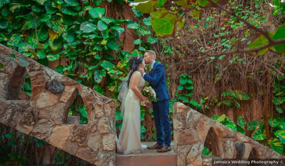 Jadah and Duane's Wedding in Negril, Jamaica