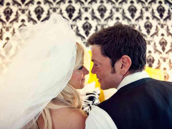 The wedding of John and Lisette