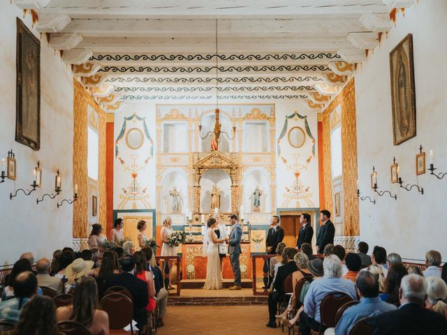 Alexandria and Christopher's Wedding in Santa Barbara, California 13