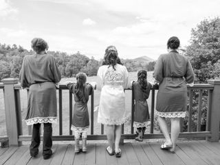 Donny and Hayli's Wedding in Townsend, Tennessee 6