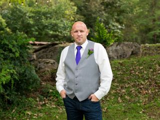 Donny and Hayli's Wedding in Townsend, Tennessee 9