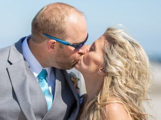 The wedding of Shari and Dave