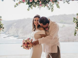 The wedding of Mary and Marcelo