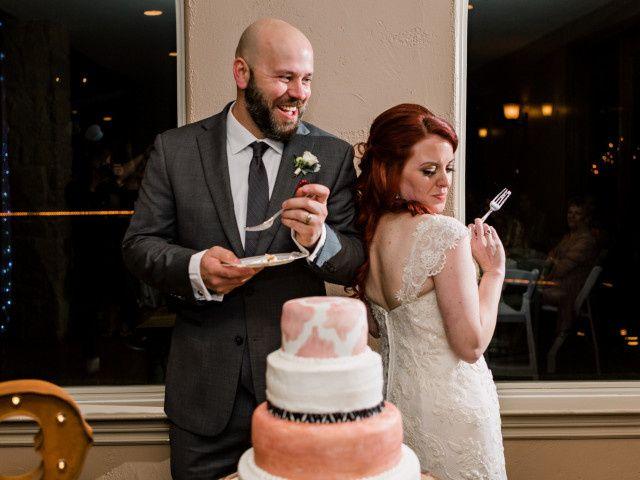 The wedding of Mandolen and Wade