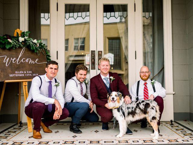 Zak and Ellen's Wedding in Astoria, Oregon 18