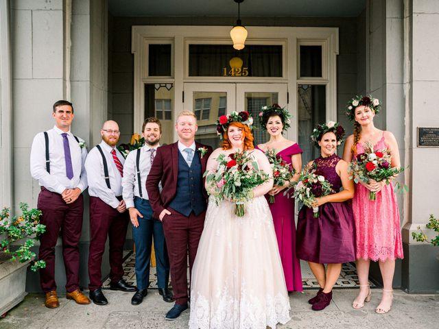 Zak and Ellen's Wedding in Astoria, Oregon 20