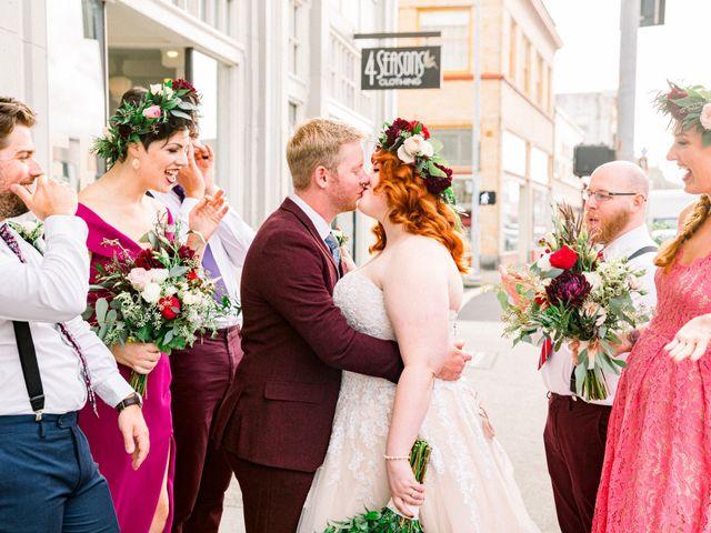 Zak and Ellen's Wedding in Astoria, Oregon 21