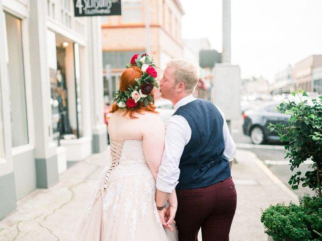 Zak and Ellen's Wedding in Astoria, Oregon 27