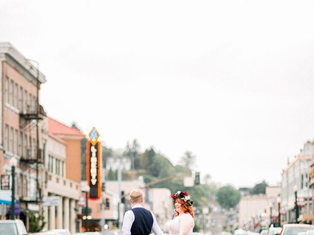 Zak and Ellen's Wedding in Astoria, Oregon 29