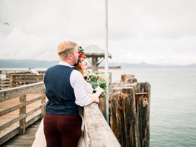Zak and Ellen's Wedding in Astoria, Oregon 30