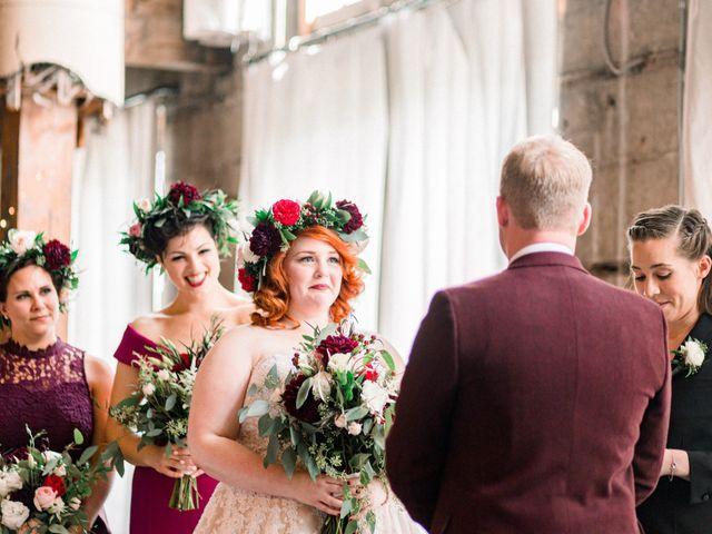 Zak and Ellen's Wedding in Astoria, Oregon 34