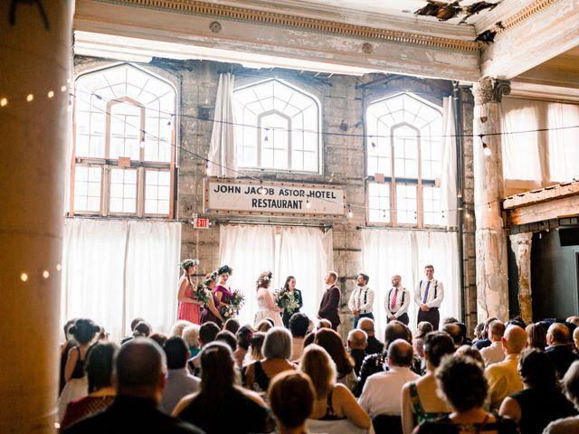 Zak and Ellen's Wedding in Astoria, Oregon 35