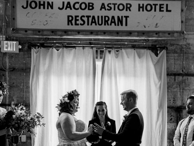 Zak and Ellen's Wedding in Astoria, Oregon 37
