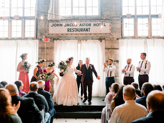 Zak and Ellen's Wedding in Astoria, Oregon 38
