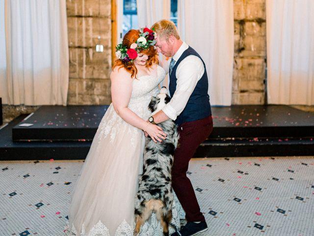 Zak and Ellen's Wedding in Astoria, Oregon 40