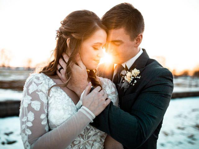 The wedding of Mckenna and Jason