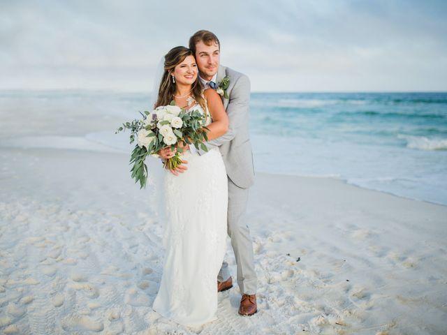 The wedding of Brady and Christina