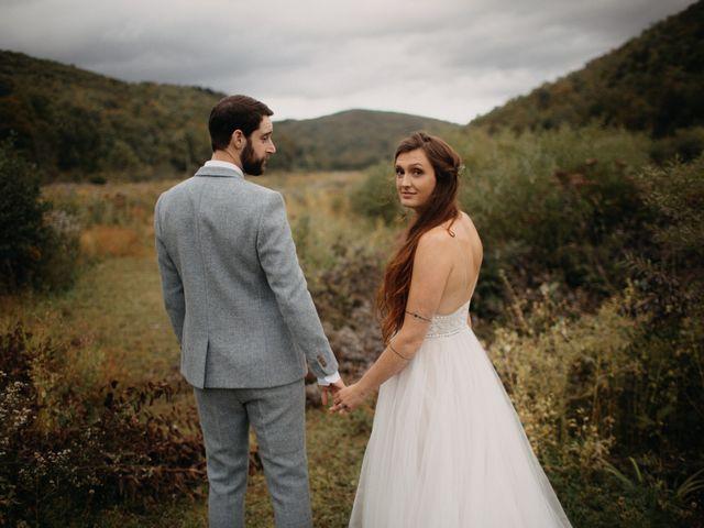 The wedding of Dan and Skye