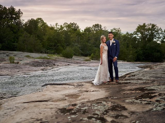 The wedding of Brittany and Josh