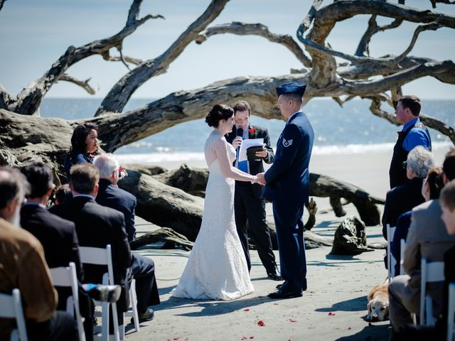 Samantha and Clinton's Wedding in Jekyll Island, Georgia 9