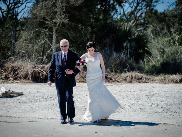 Samantha and Clinton's Wedding in Jekyll Island, Georgia 8
