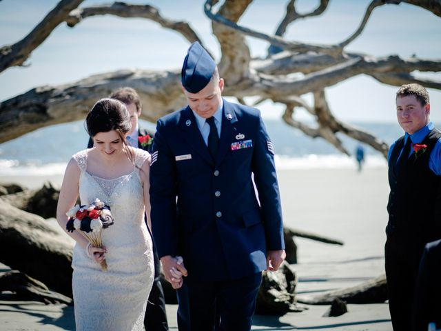 Samantha and Clinton's Wedding in Jekyll Island, Georgia 11