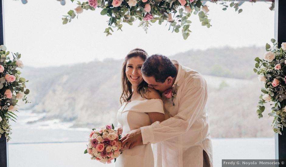 Marcelo and Mary's Wedding in Bahias De Huatulco, Mexico