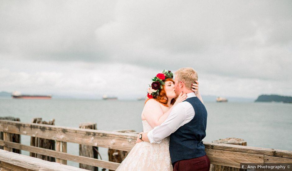 Zak and Ellen's Wedding in Astoria, Oregon