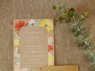 The wedding of Kate and Ashlee 2