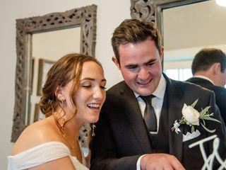 The wedding of Jennifer and Christian