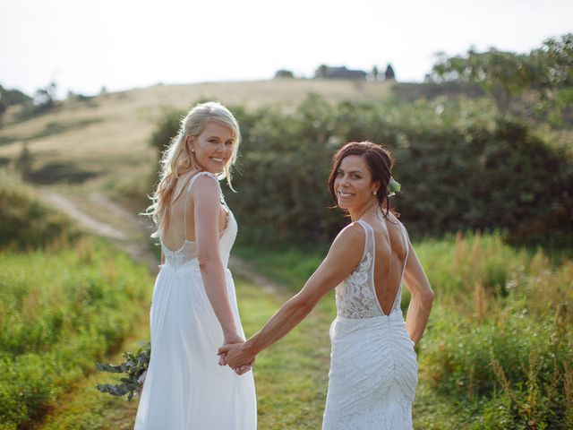 The wedding of Kate and Ashlee