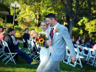 The wedding of Lindsey and Cody