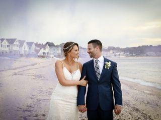 The wedding of Gina and Tom