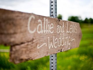 The wedding of Levi and Callie 3