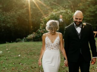The wedding of Joe and Kate