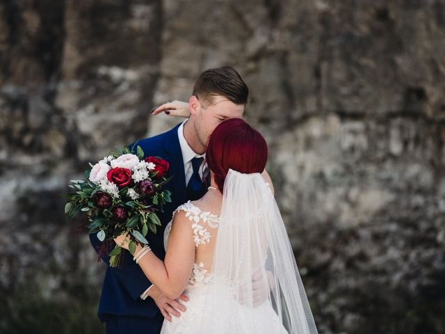 The wedding of Jamie and Brett