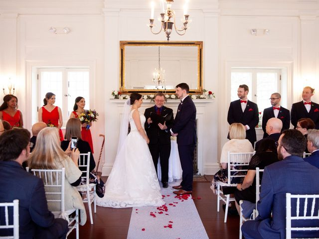 Alex and Cyndi's Wedding in Ridgefield, Connecticut 11