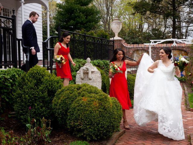Alex and Cyndi's Wedding in Ridgefield, Connecticut 13