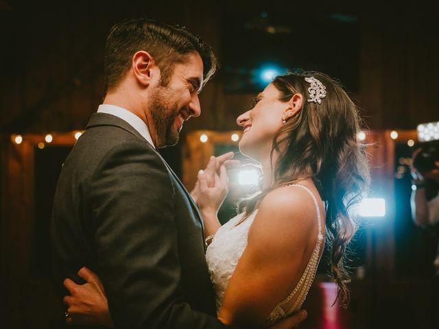 Jared and Justine's Wedding in Roxbury, New York 9