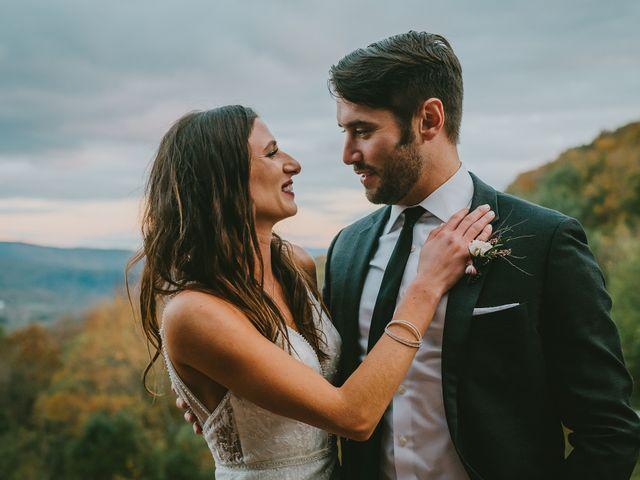 Jared and Justine's Wedding in Roxbury, New York 10