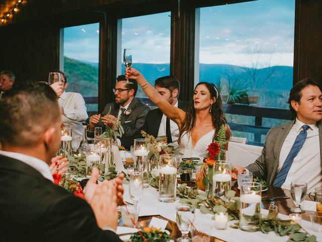 Jared and Justine's Wedding in Roxbury, New York 14