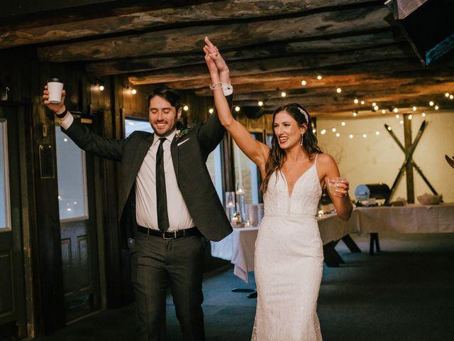 Jared and Justine's Wedding in Roxbury, New York 18